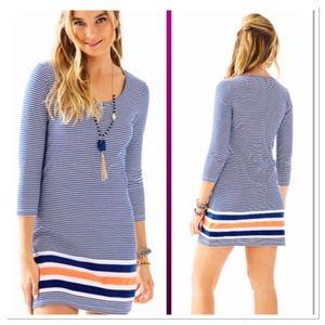 Lilly Pulitzer Beacon T-shirt Dress striped tunic